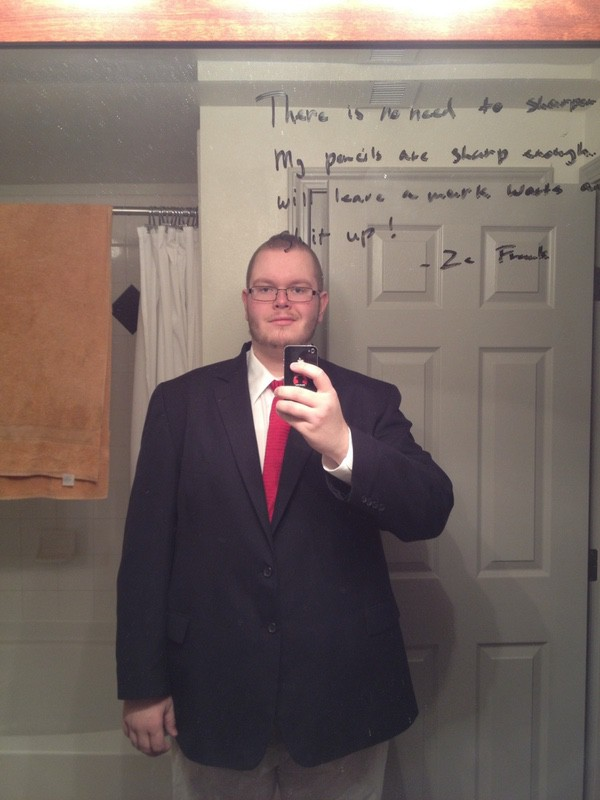 Before and After 50 lbs Weight Loss 6 feet 3 Male 358 lbs to 308 lbs