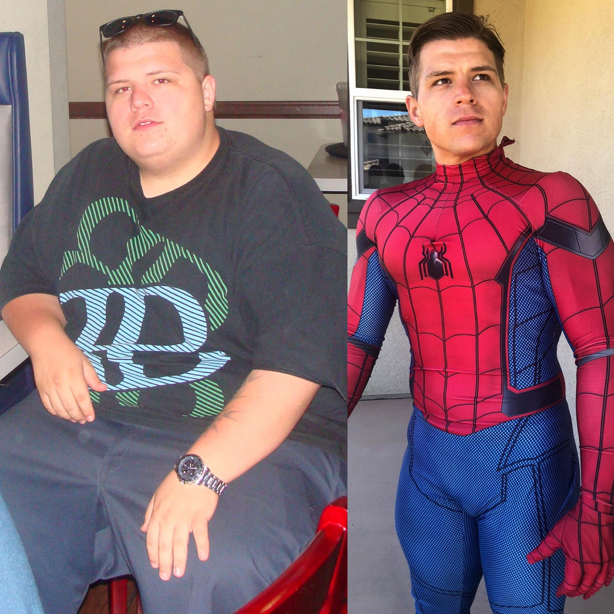 5 foot 8 Male Before and After 160 lbs Weight Loss 360 lbs to 200 lbs