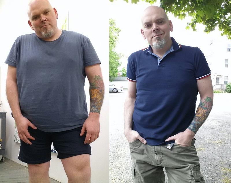 106 lbs Fat Loss 5 foot 8 Male 310 lbs to 204 lbs