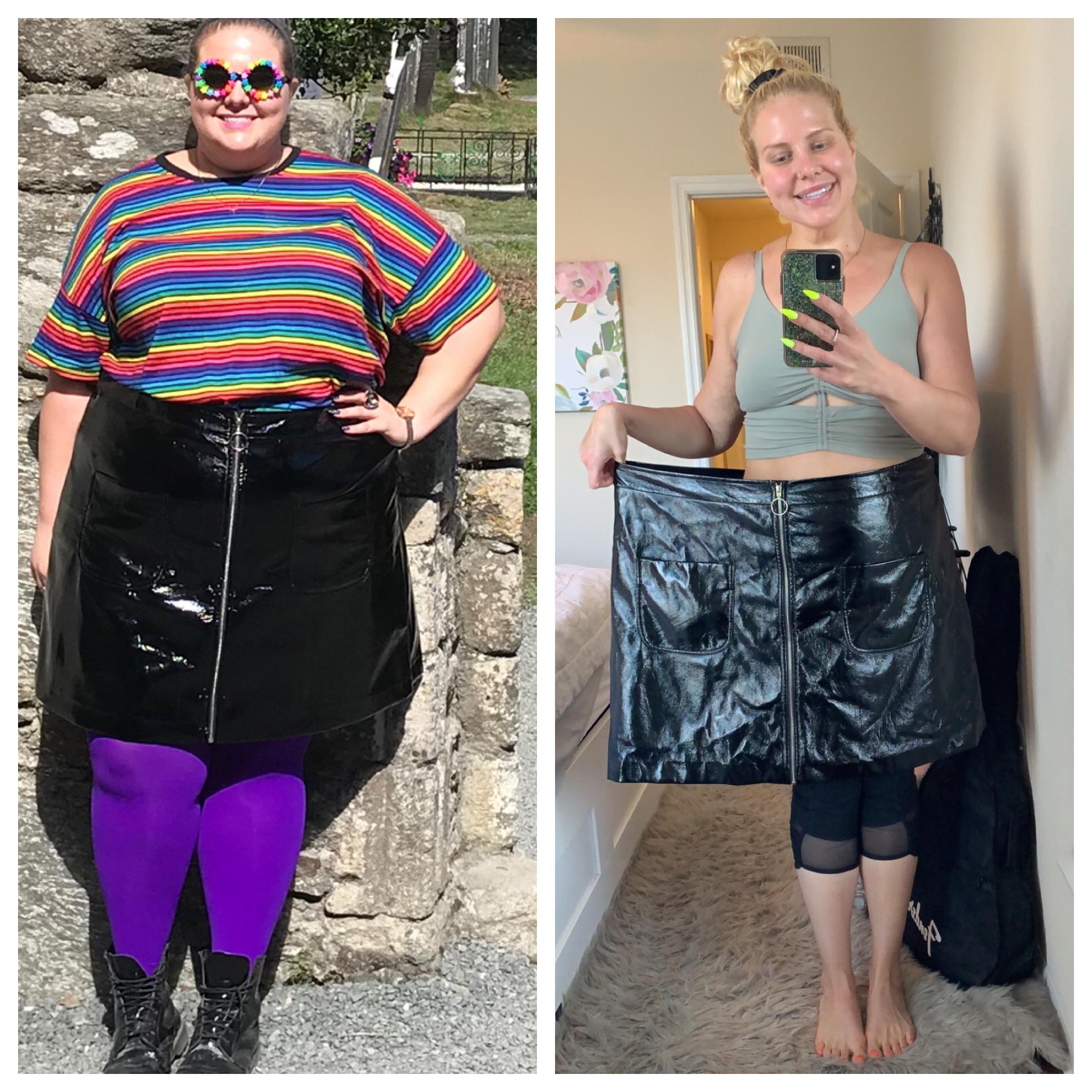 181 lbs Weight Loss 5 feet 10 Female 380 lbs to 199 lbs