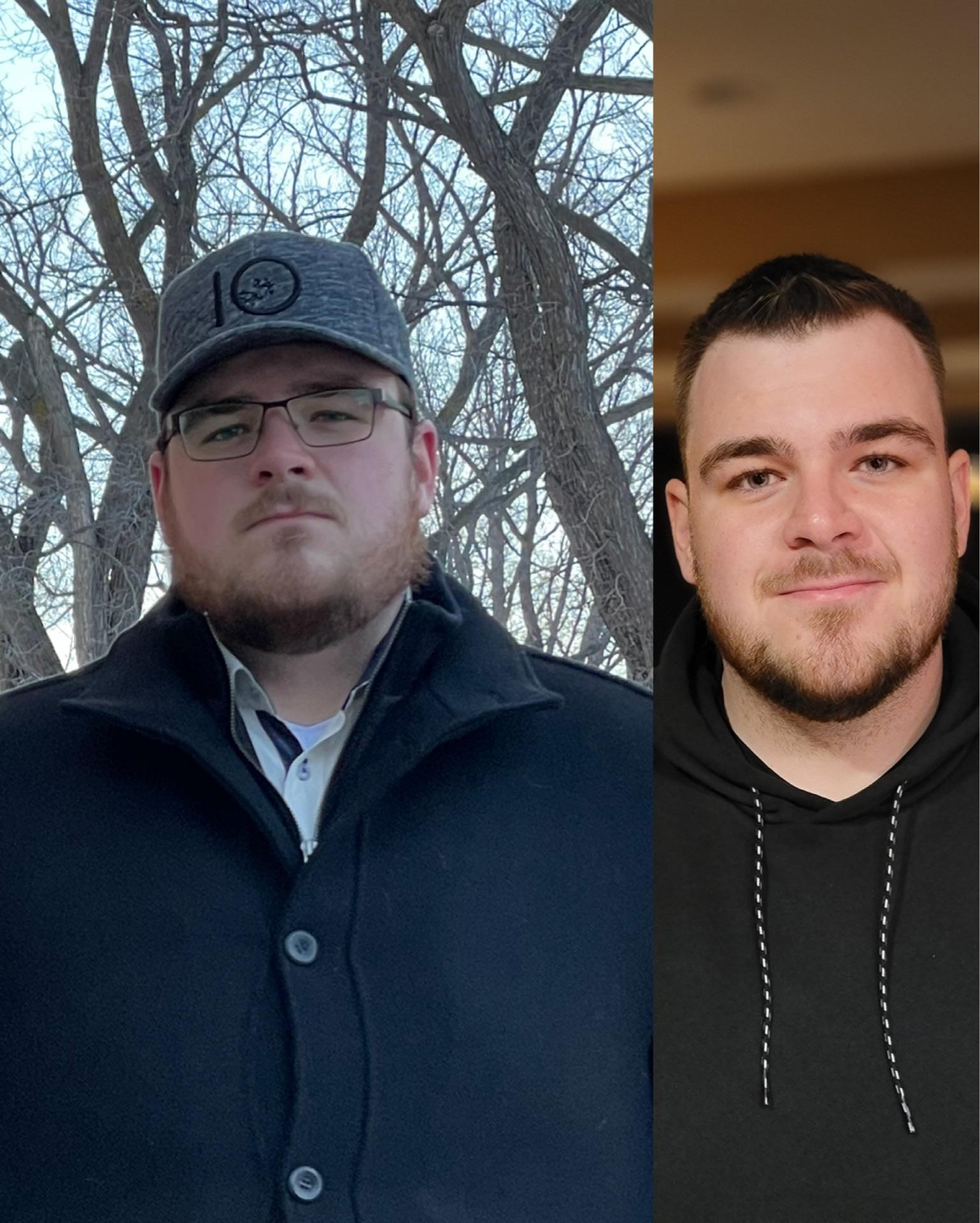 5 foot 11 Male 57 lbs Fat Loss Before and After 357 lbs to 300 lbs
