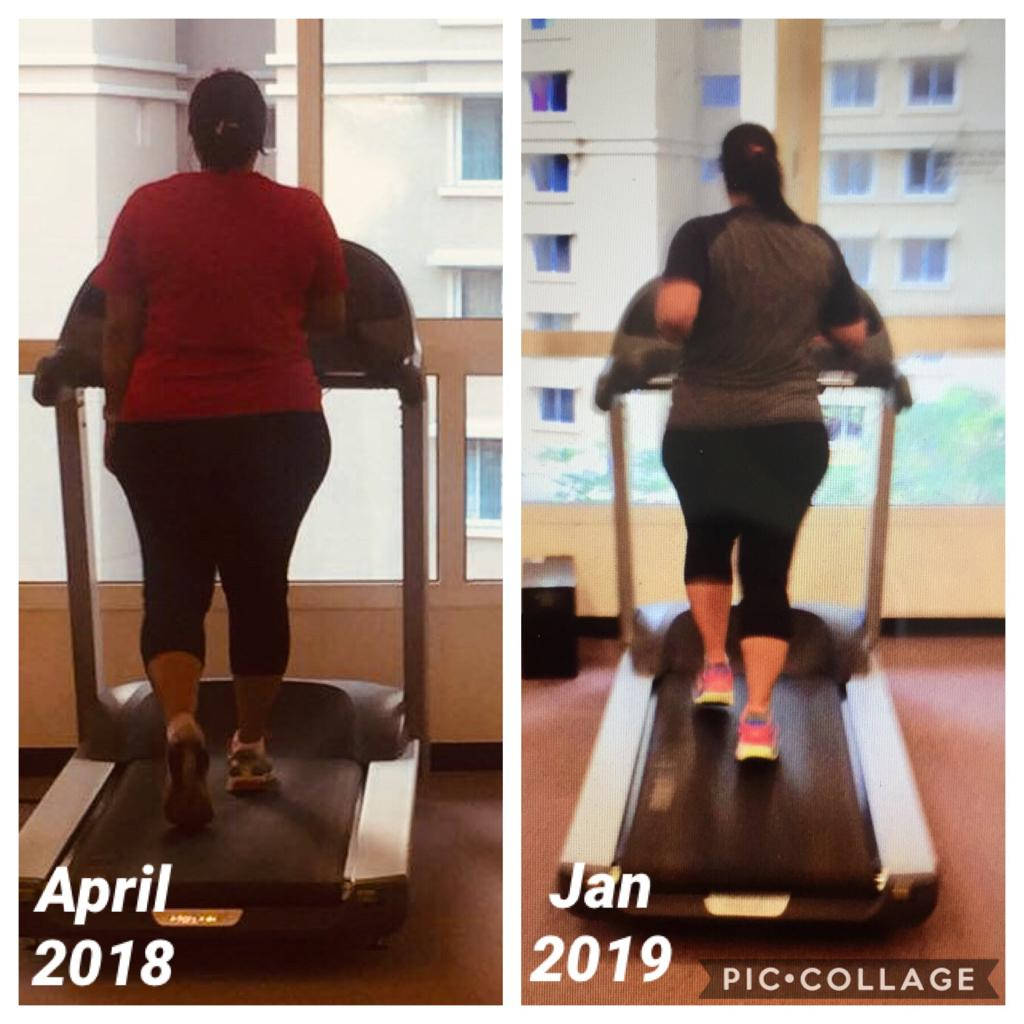 5'5 Female Progress Pics of 14 lbs Weight Loss 209 lbs to 195 lbs