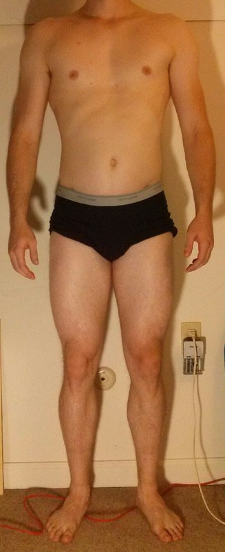 4 Photos of a 6 foot 1 188 lbs Male Weight Snapshot