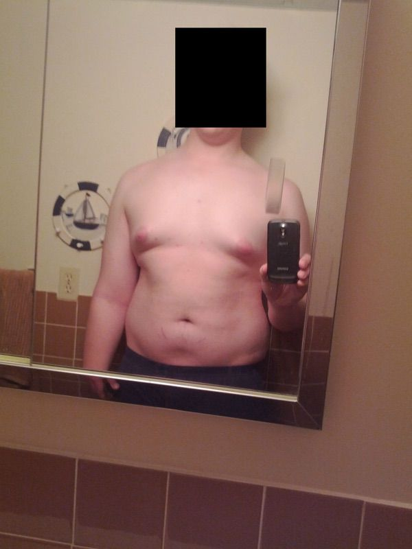6 foot 6 Male 45 lbs Weight Loss Before and After 305 lbs to 260 lbs