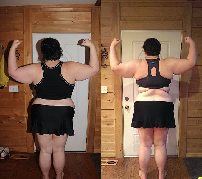 1 Pic of a 350 lbs 5'11 Female Fitness Inspo