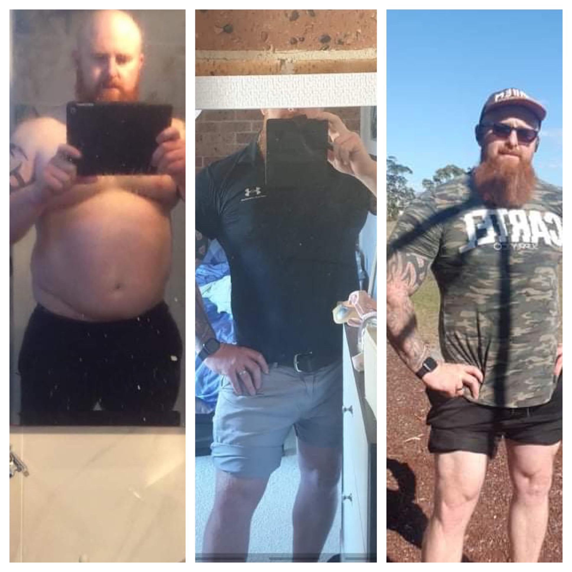 Progress Pics of 62 lbs Fat Loss 6 foot 2 Male 327 lbs to 265 lbs
