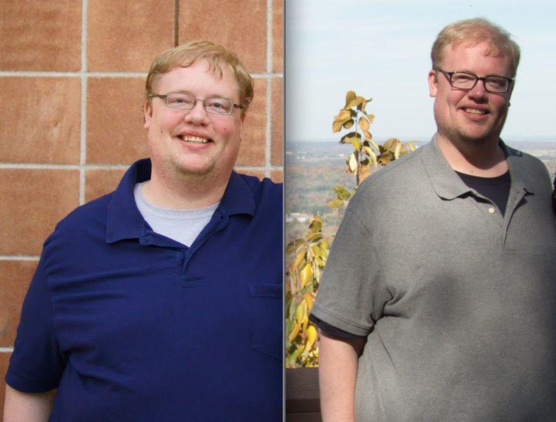 Progress Pics of 45 lbs Fat Loss 6'3 Male 375 lbs to 330 lbs