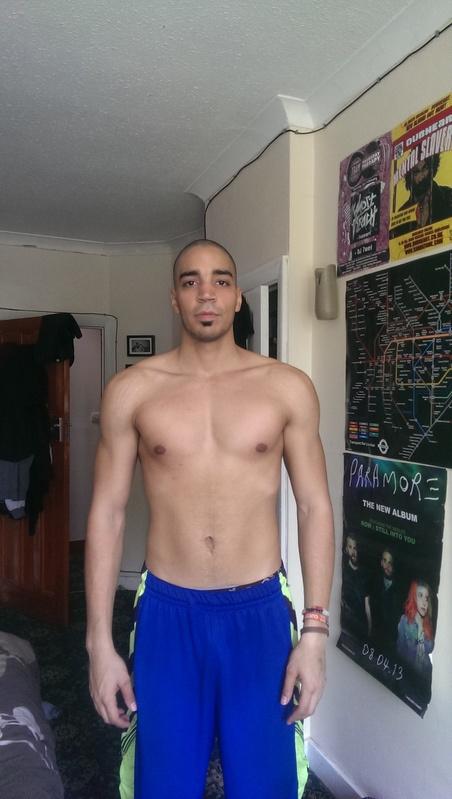 Progress Pics of 38 lbs Weight Loss 6'2 Male 225 lbs to 187 lbs