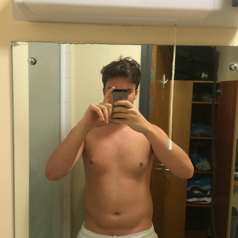 6 Photos of a 62 214 lbs Male Fitness Inspo