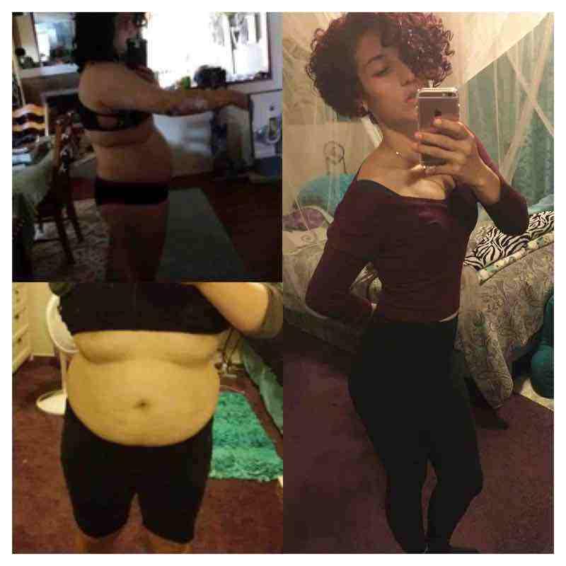 5 feet 4 Female 86 lbs Weight Loss 215 lbs to 129 lbs