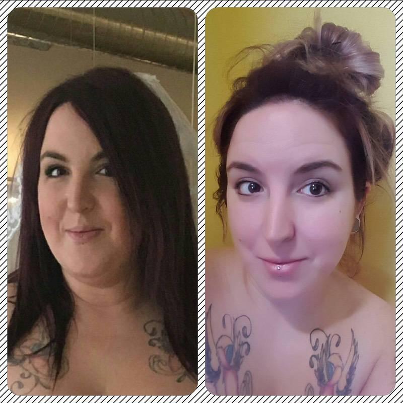 5 foot 8 Female 17 lbs Fat Loss 231 lbs to 214 lbs