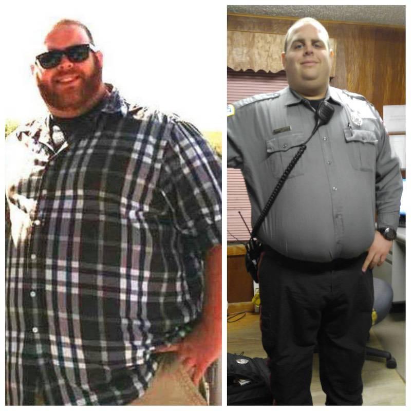5'11 Male 25 lbs Weight Loss 360 lbs to 335 lbs