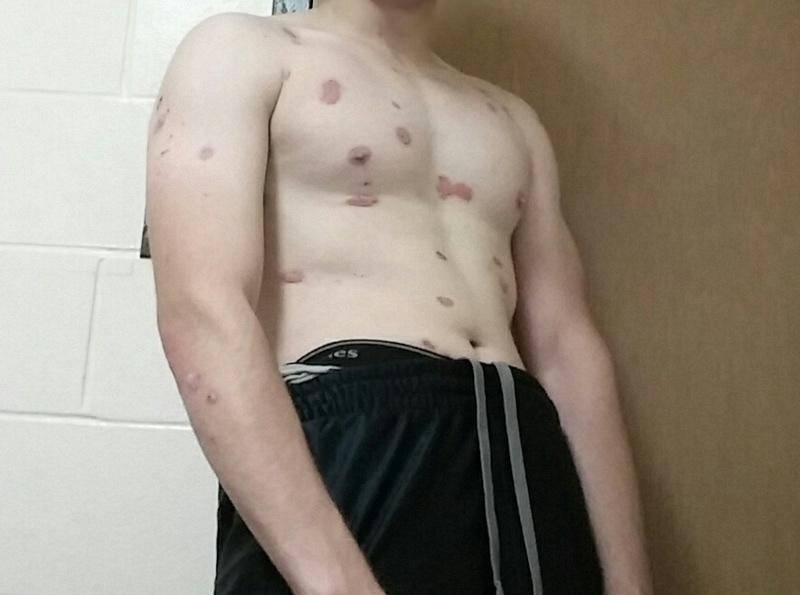 2 Pics of a 160 lbs 5'8 Male Fitness Inspo