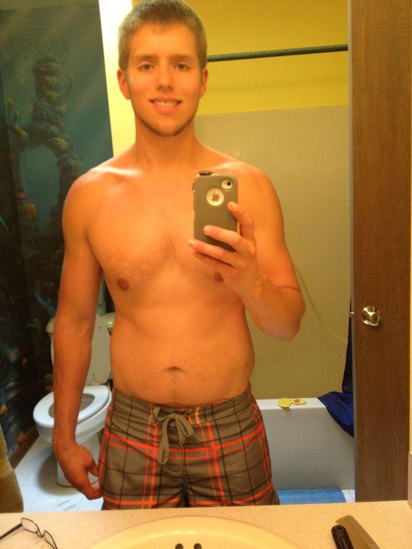 50 lbs Fat Loss 6 feet 2 Male 195 lbs to 145 lbs