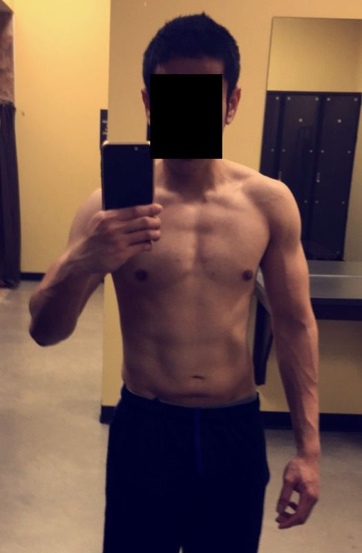 1 Photo of a 137 lbs 5 feet 7 Male Fitness Inspo