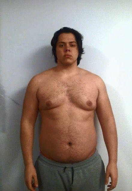 Progress Pics of 68 lbs Fat Loss 6 foot Male 285 lbs to 217 lbs