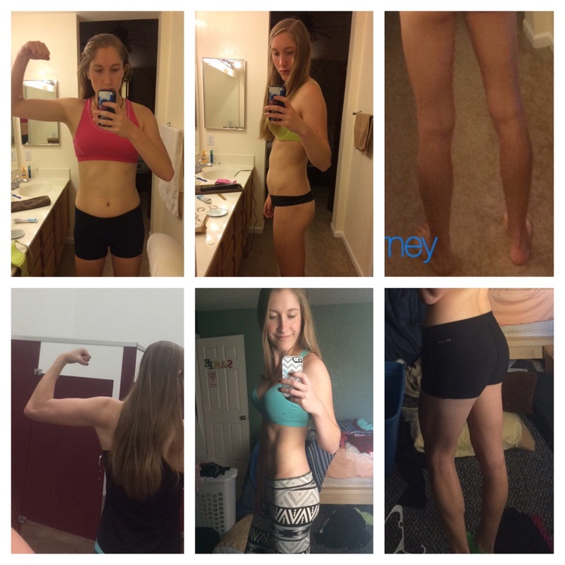 6 foot 1 Female 6 lbs Weight Loss Before and After 148 lbs to 142 lbs