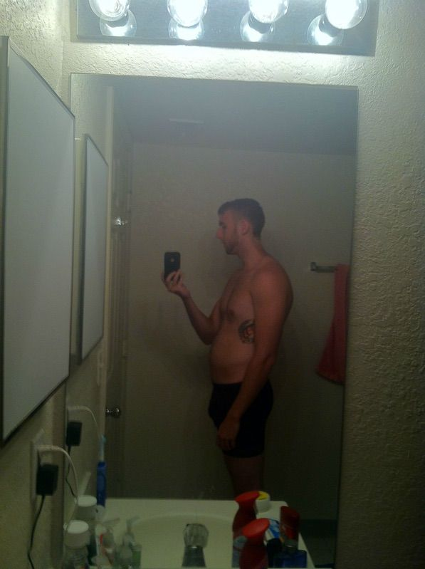 4 Photos of a 175 lbs 6 foot 1 Male Fitness Inspo
