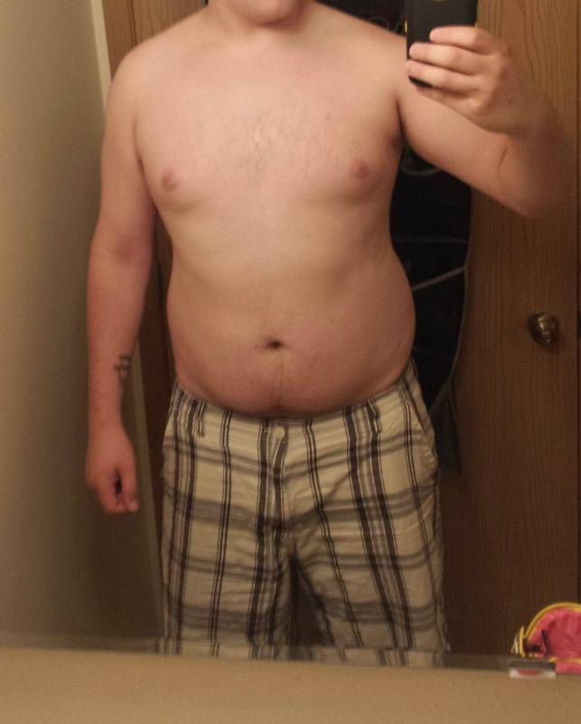 6 feet 5 Male 25 lbs Weight Loss Before and After 290 lbs to 265 lbs