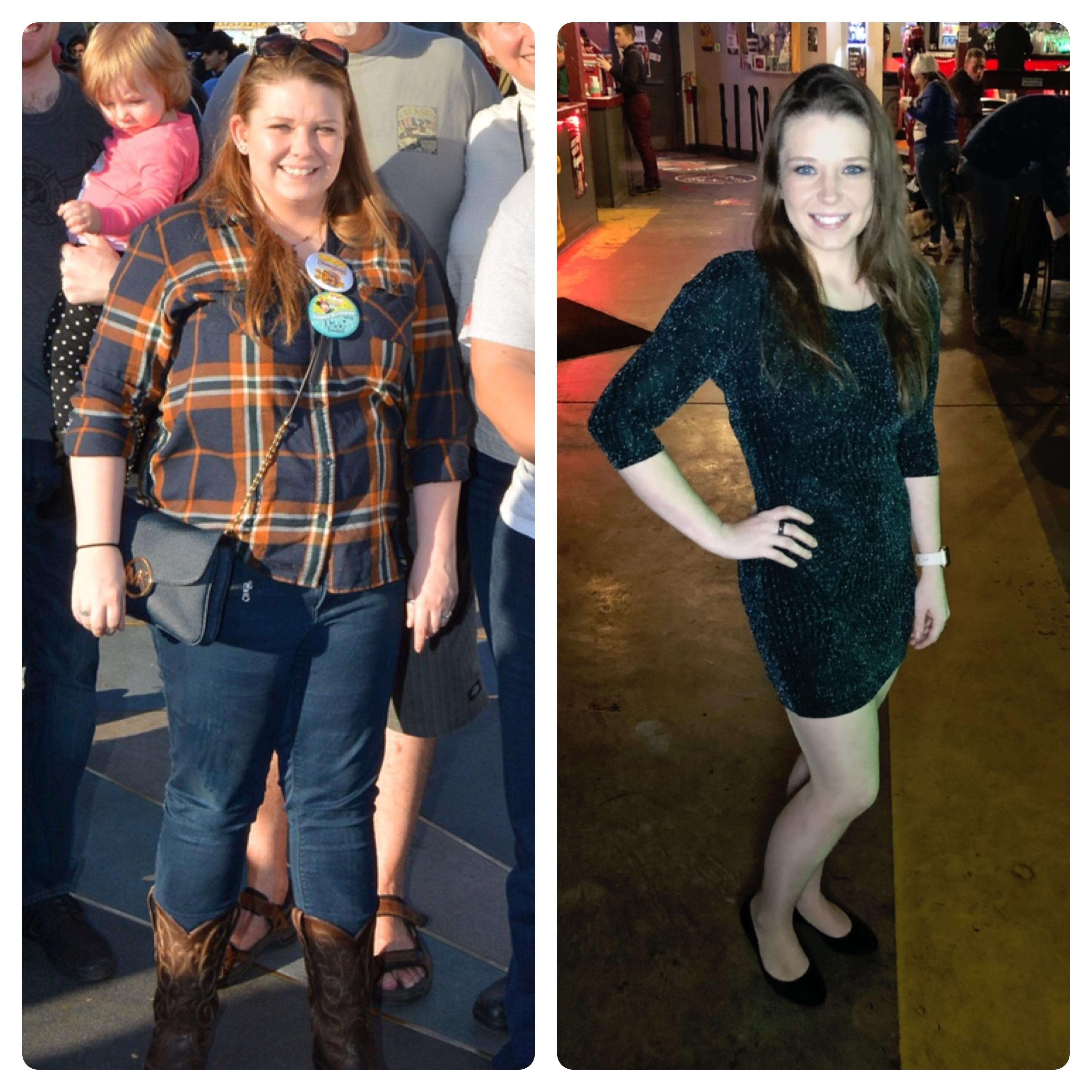 78 lbs Fat Loss 5 foot 1 Female 198 lbs to 120 lbs