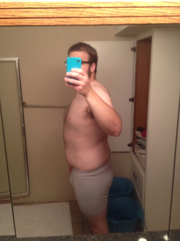 1 Pic of a 5'11 233 lbs Male Weight Snapshot