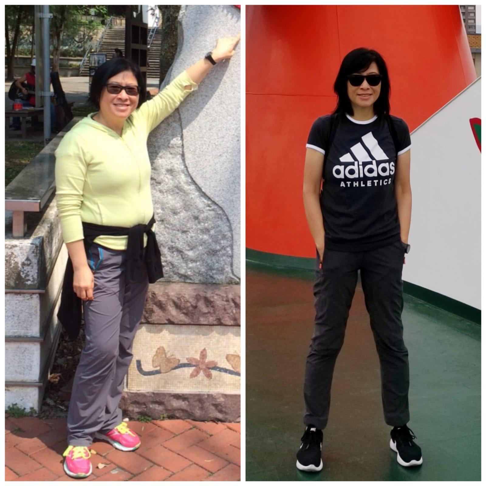 5 foot 3 Female Progress Pics of 60 lbs Fat Loss 177 lbs to 117 lbs