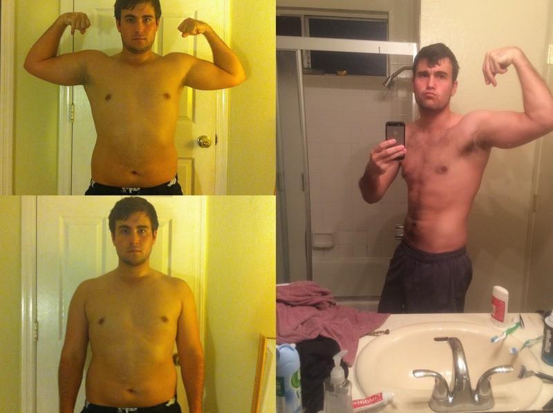 5 foot 10 Male 33 lbs Weight Loss 210 lbs to 177 lbs