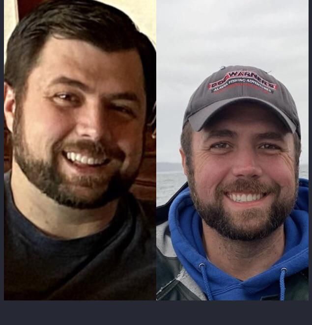 60 lbs Weight Loss Before and After 6 foot 2 Male 354 lbs to 294 lbs