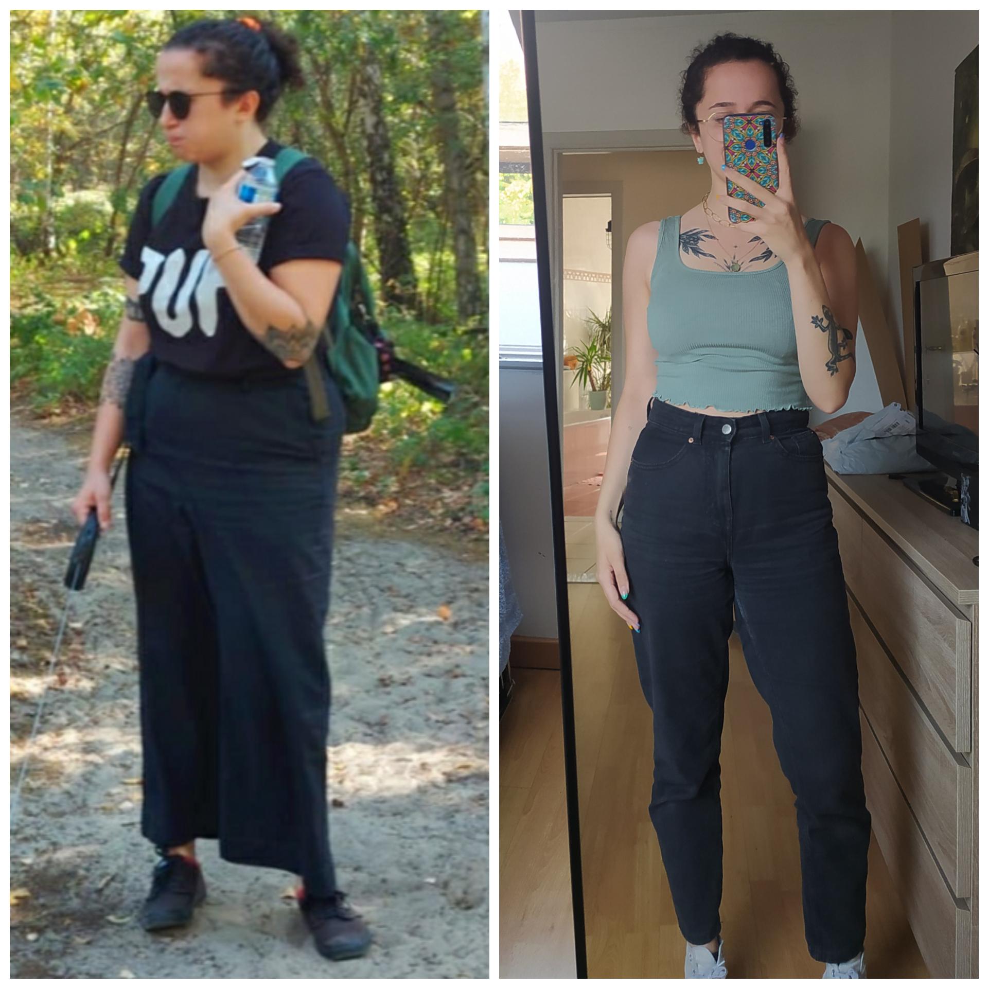 5 foot 4 Female Progress Pics of 39 lbs Weight Loss 165 lbs to 126 lbs