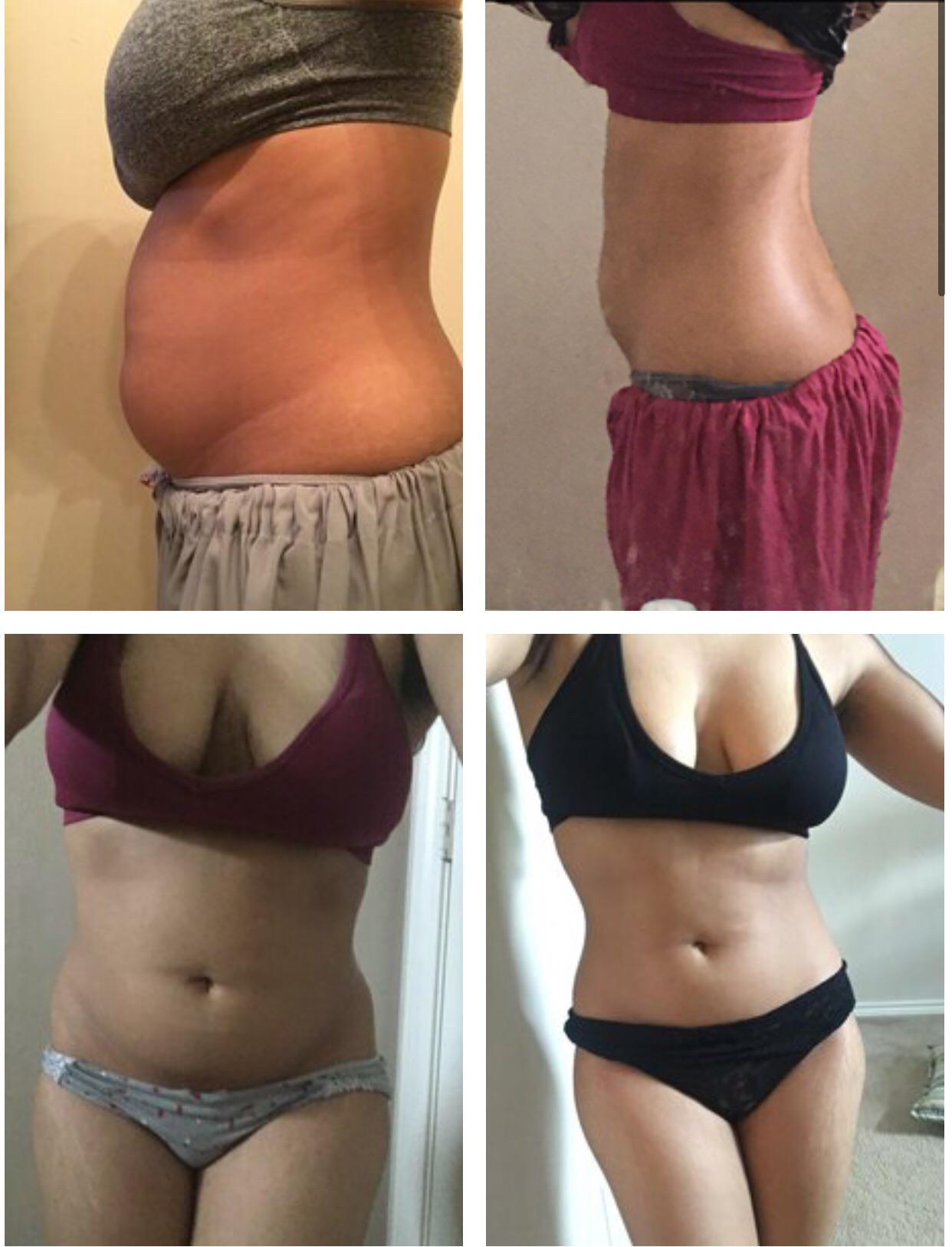 5 foot Female Progress Pics of 13 lbs Weight Loss 126 lbs to 113 lbs