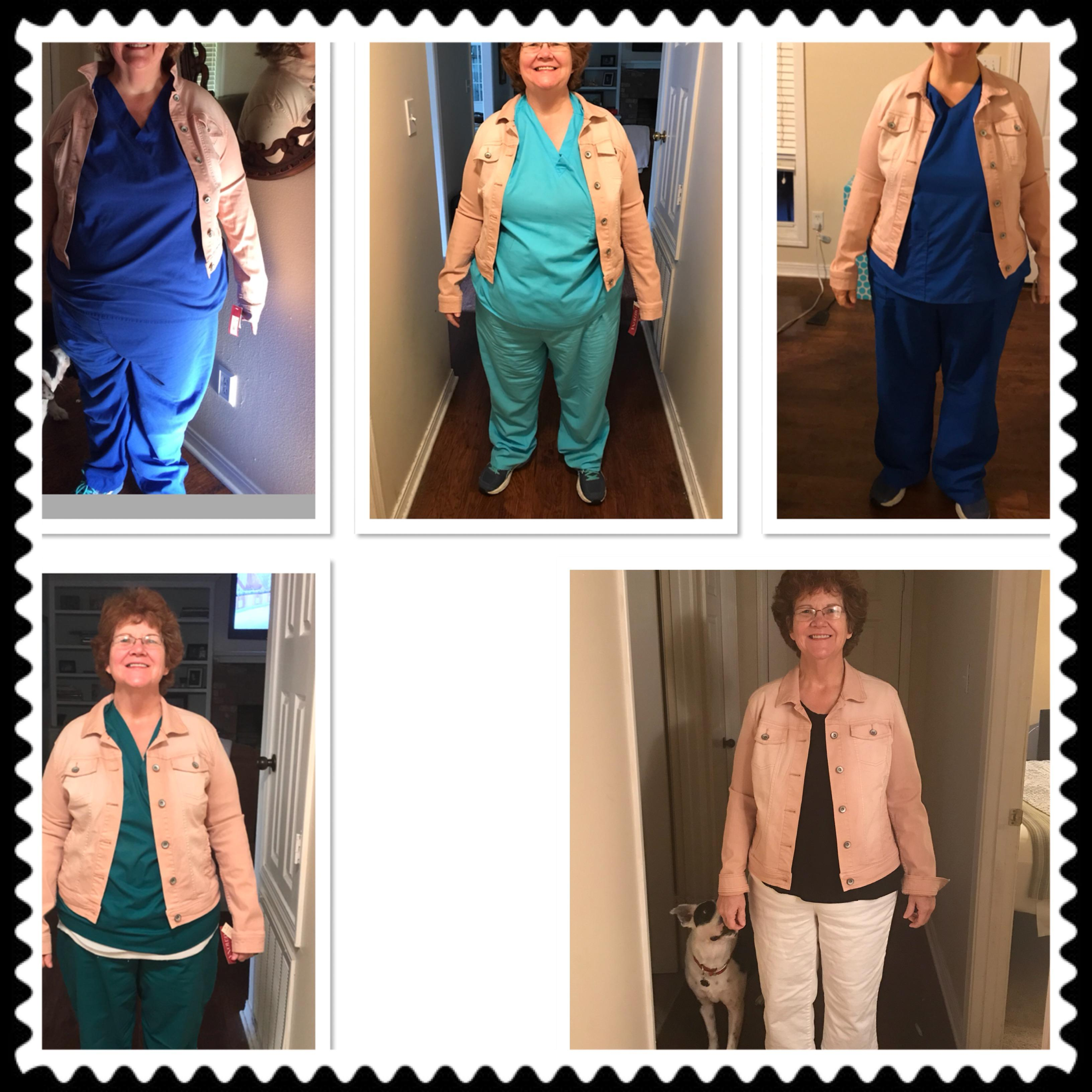 5 foot 6 Female Progress Pics of 100 lbs Weight Loss 283 lbs to 183 lbs