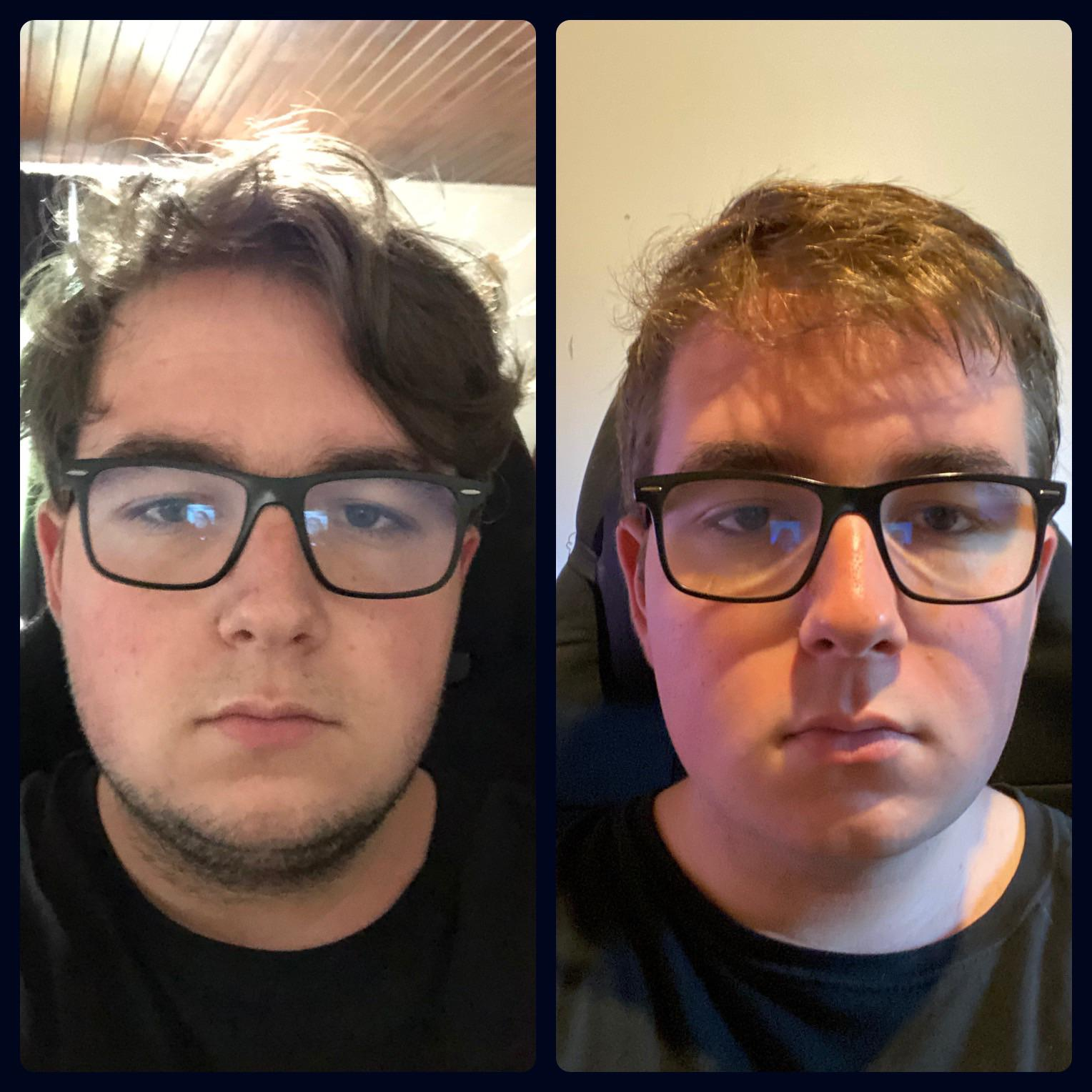5 feet 7 Male 33 lbs Fat Loss Before and After 265 lbs to 232 lbs