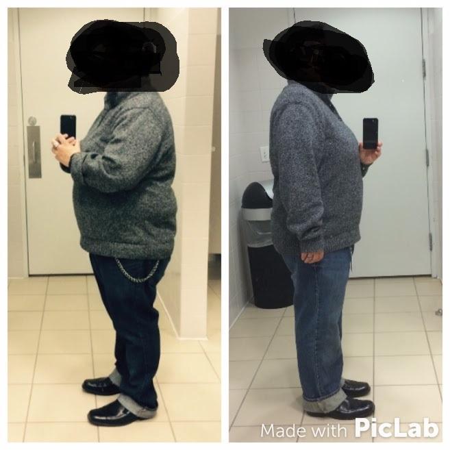 Progress Pics of 31 lbs Fat Loss 5 feet 3 Female 245 lbs to 214 lbs