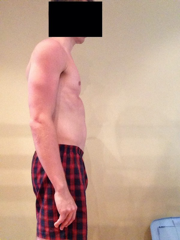3 Pictures of a 5'9 143 lbs Male Fitness Inspo