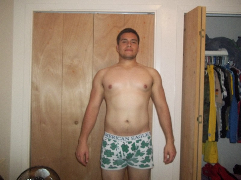 8 Pics of a 5 feet 10 205 lbs Male Fitness Inspo