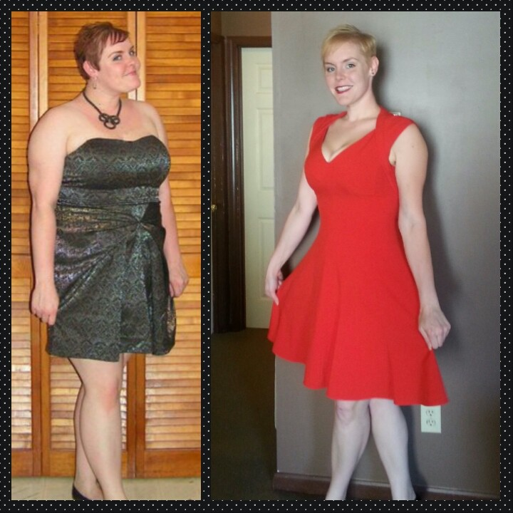 80 lbs Weight Loss 6 foot Female 270 lbs to 190 lbs
