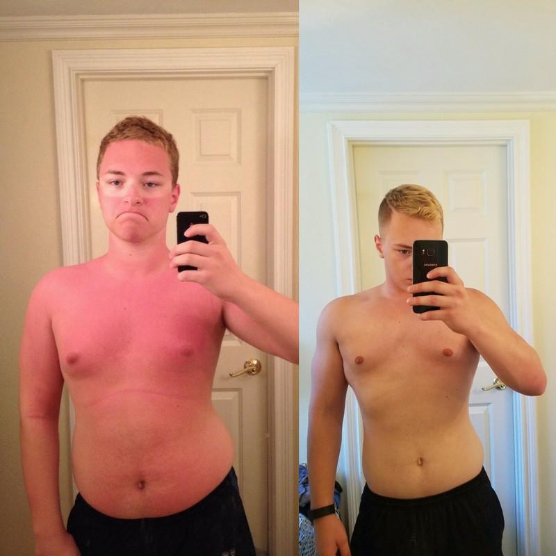 5 feet 9 Male 10 lbs Fat Loss 205 lbs to 195 lbs