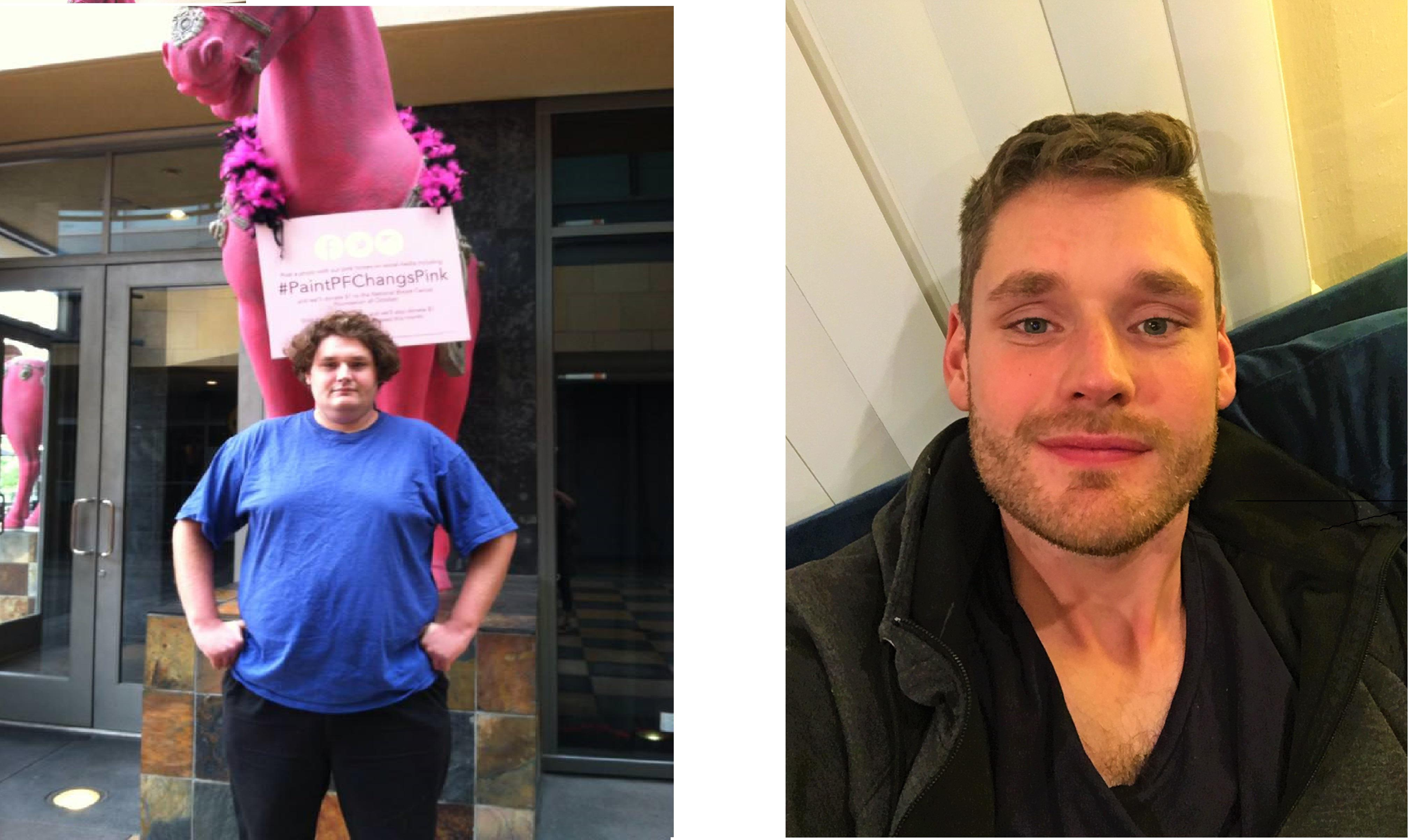 140 lbs Weight Loss 6'5 Male 340 lbs to 200 lbs