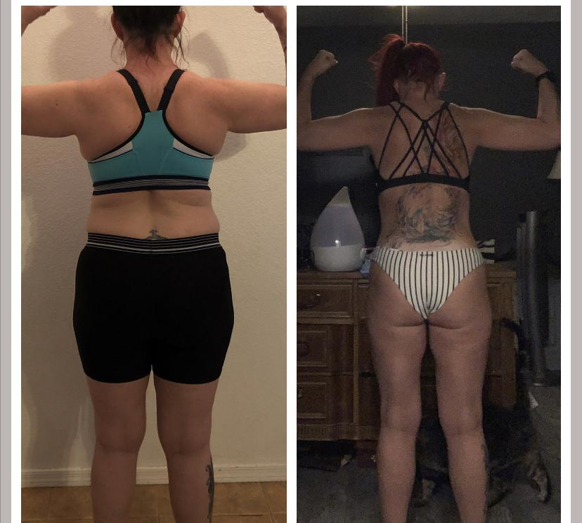 5 feet 3 Female Before and After 29 lbs Weight Loss 165 lbs to 136 lbs