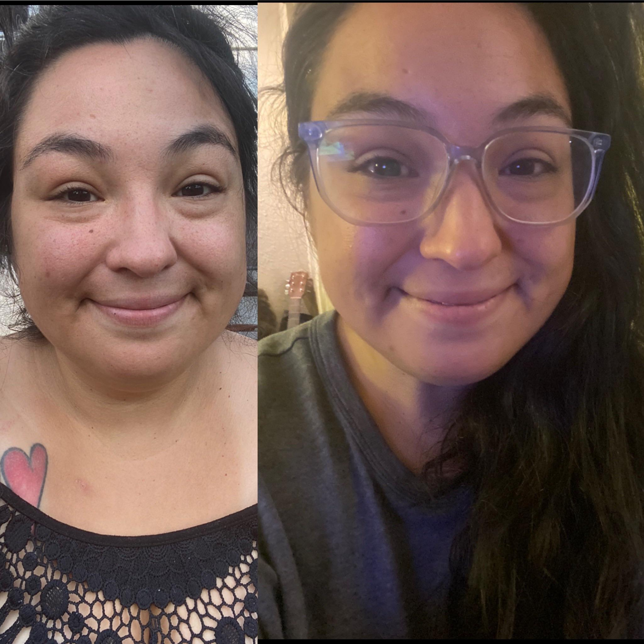 54 lbs Weight Loss 5 foot 2 Female 243 lbs to 189 lbs