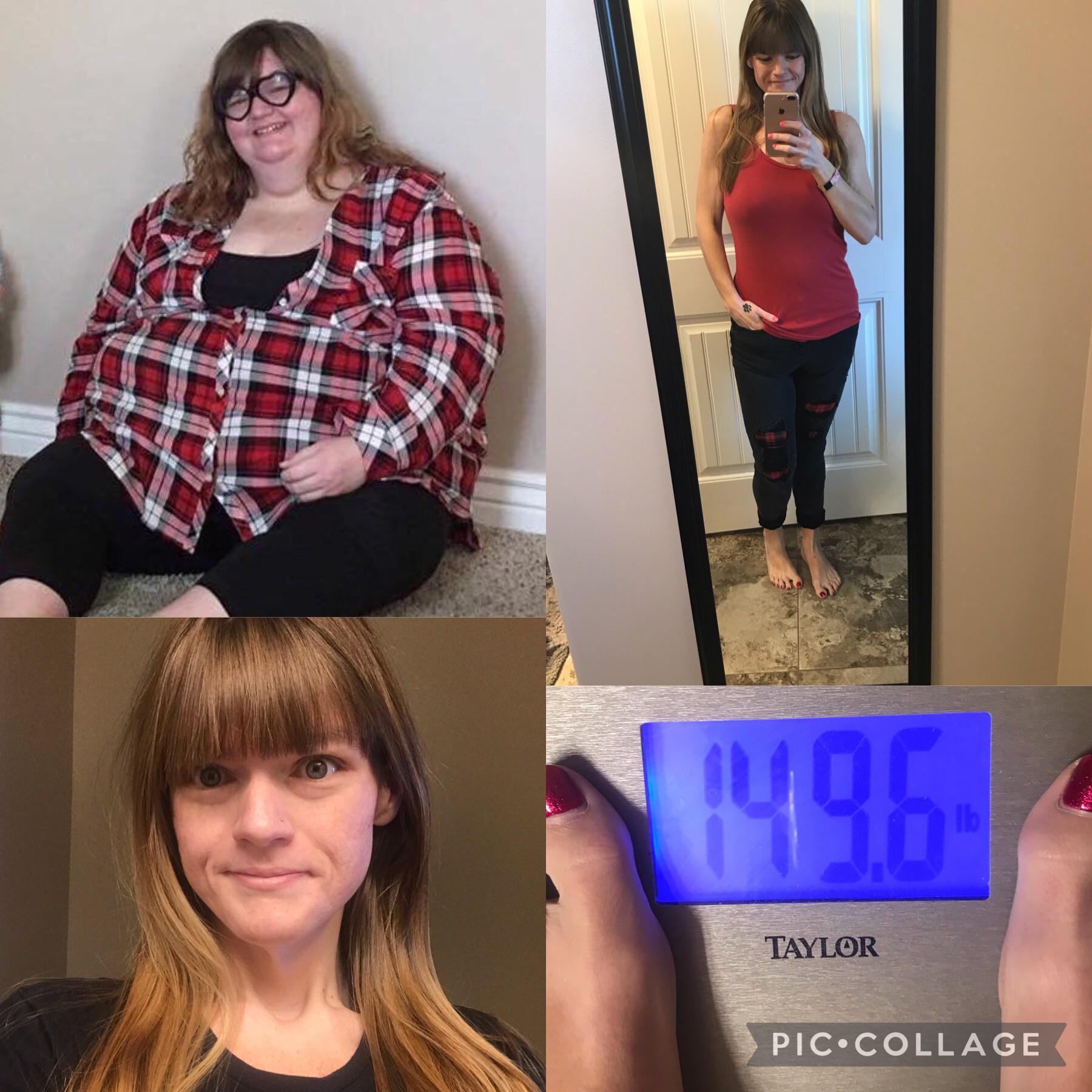 5 feet 6 Female 276 lbs Weight Loss 425 lbs to 149 lbs