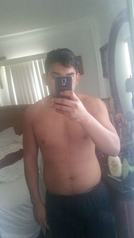 3 Pics of a 6 foot 200 lbs Male Fitness Inspo