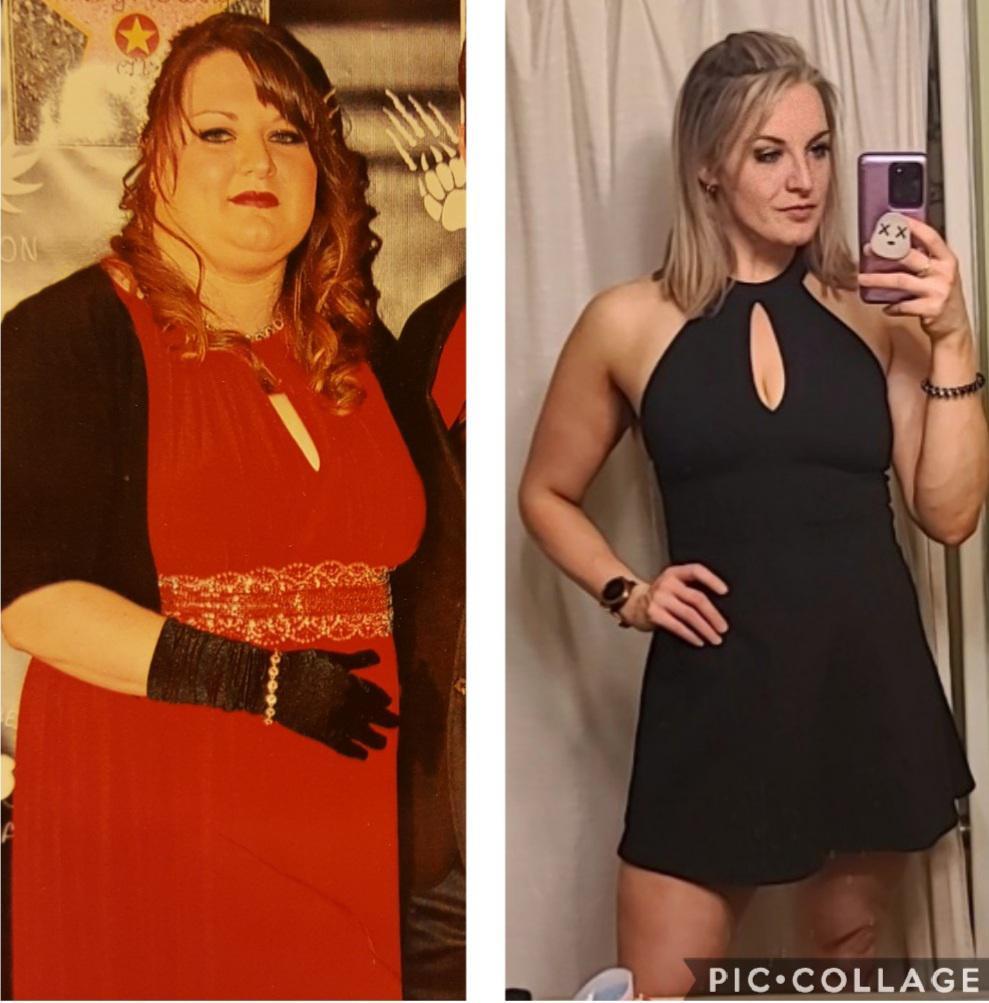 5'10 Female Progress Pics of 120 lbs Fat Loss 290 lbs to 170 lbs