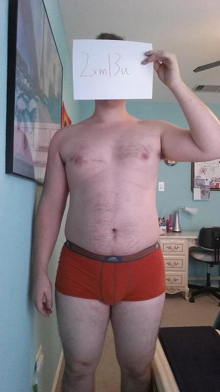 3 Pics of a 251 lbs 6 feet 1 Male Weight Snapshot