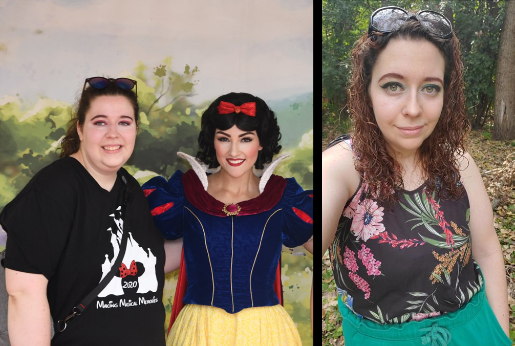Before and After 70 lbs Weight Loss 5 feet 7 Female 249 lbs to 179 lbs