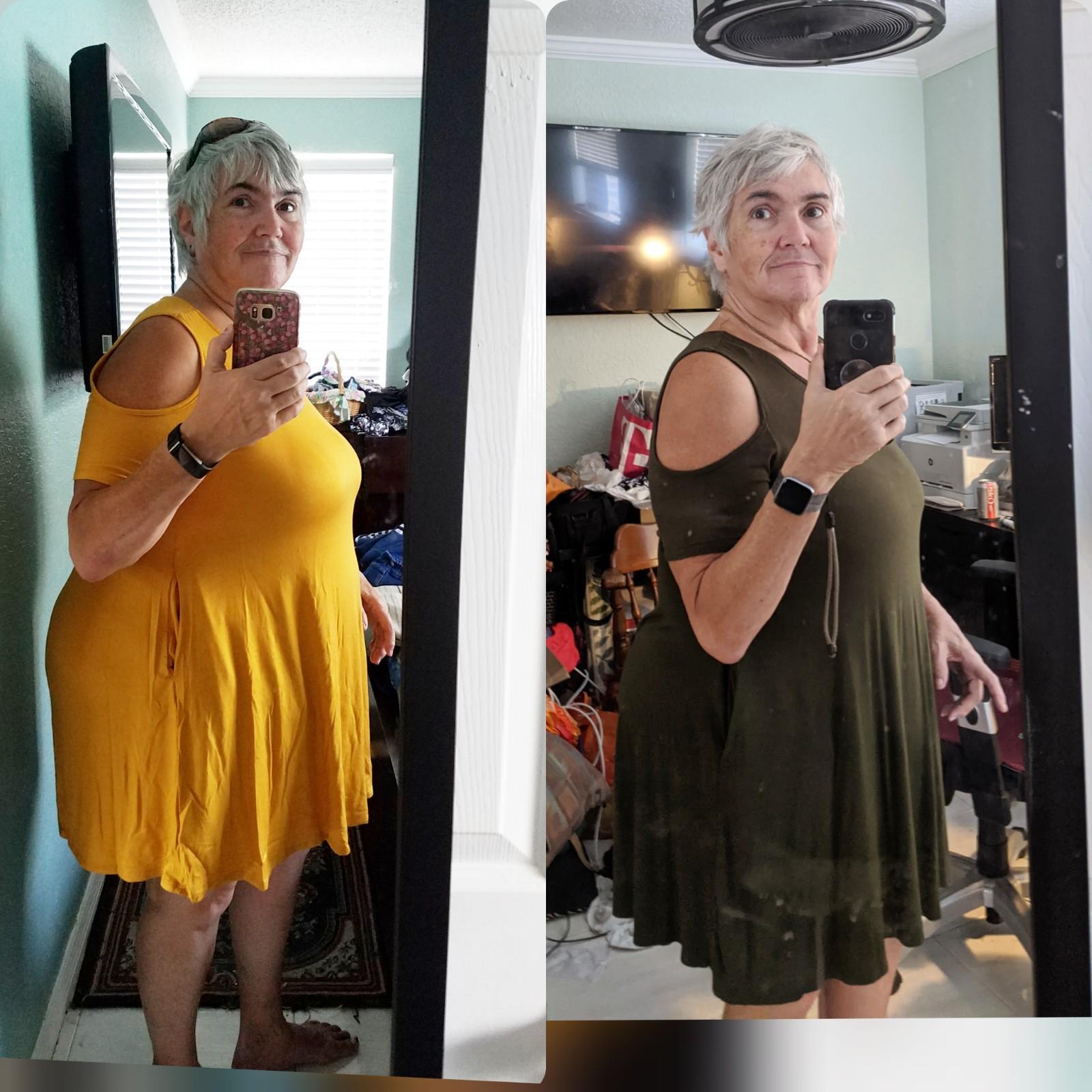 5'5 Female 50 lbs Fat Loss 259 lbs to 209 lbs