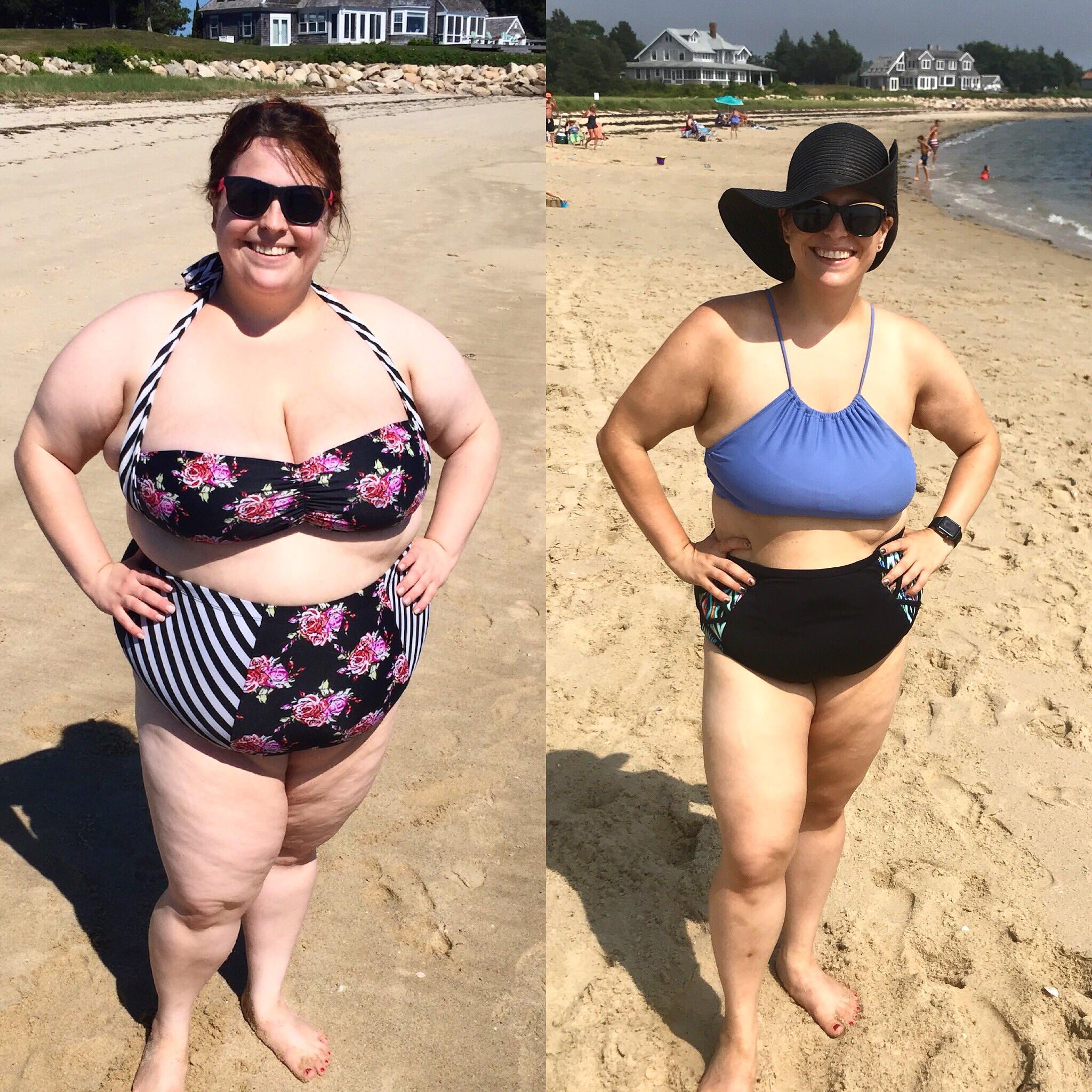 Progress Pics of 110 lbs Fat Loss 5 feet 2 Female 281 lbs to 171 lbs