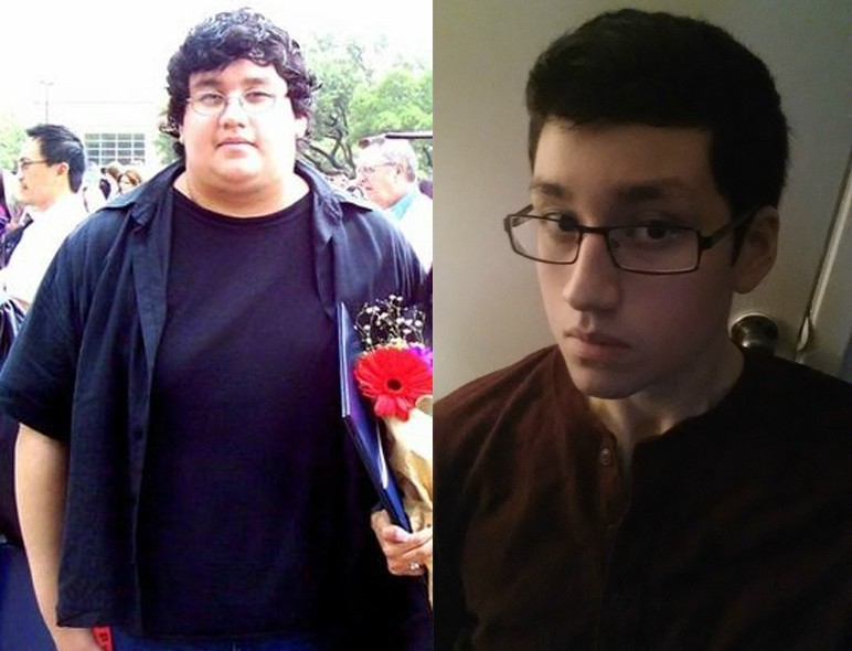 225 lbs Weight Loss 6 foot Male 400 lbs to 175 lbs