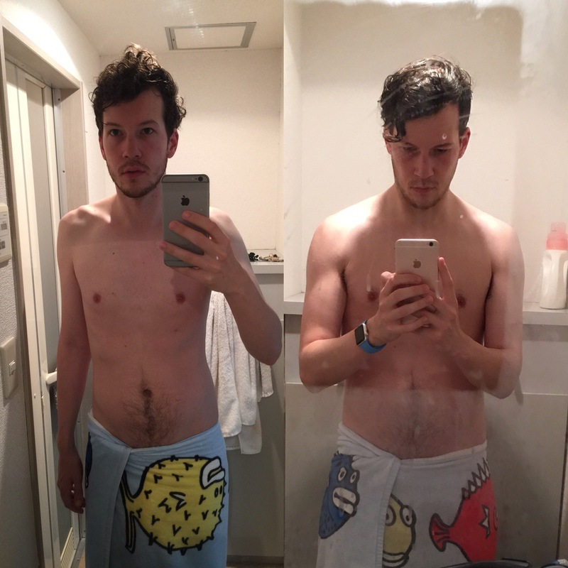 1 Pictures of a 184 lbs 6 foot 1 Male Weight Snapshot