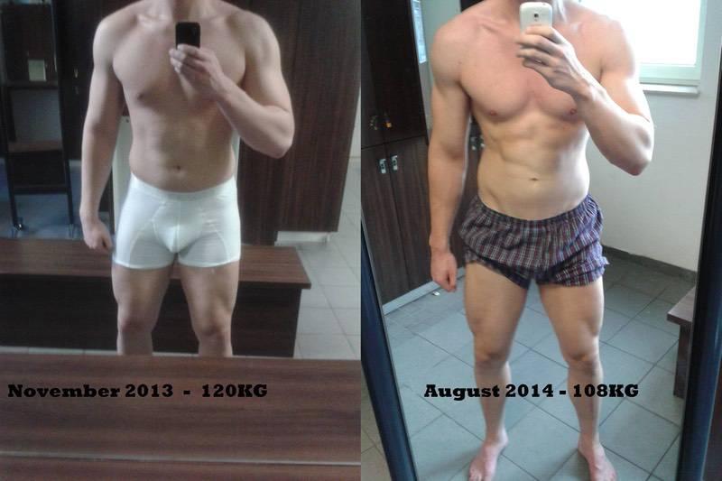 6 feet 7 Male Progress Pics of 27 lbs Fat Loss 265 lbs to 238 lbs
